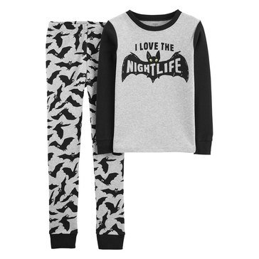 Carter's Little Boy's 2-Piece Bats Sleepwear