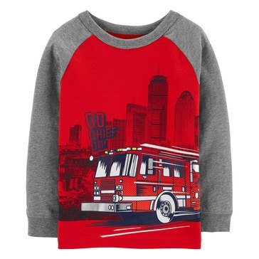 Carter's Toddler Boy's Firetruck Tee