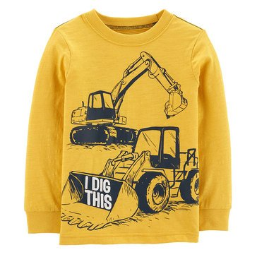 Carter's Toddler Boy's Construction Tee