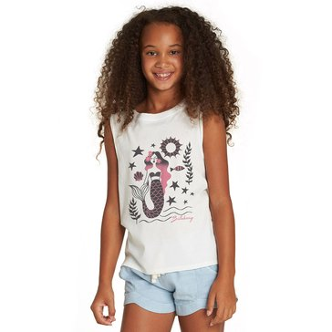 Billabong Big Girls' Mermaid Life Hi-Lo Tank