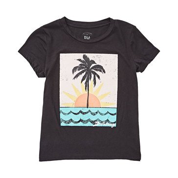 Billabong Big Girls' Waves and Sun Boy Tee