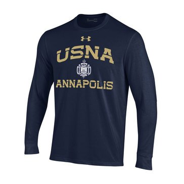 Under Armour Men's USNA Annapolis Long Sleeve Tee