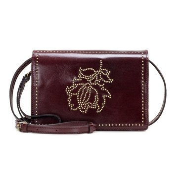 Patricia Nash Studded Floral Lanza Crossbody
