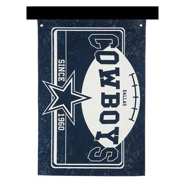Evergreen Dallas Cowboys Linen Estate Flag