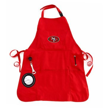 Evergreen San Francisco 49ers Grilling Apron