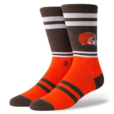 Stance Men's Cleveland Browns Logo Sock