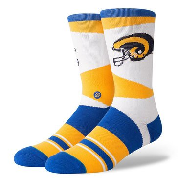 Stance Men's Los Angeles Rams Retro Sock