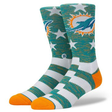 Stance Men Miami Dolphins Banner Sock