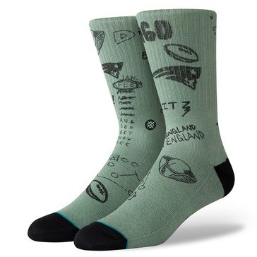 Stance Men New England Patriots Foot Soldier Sock