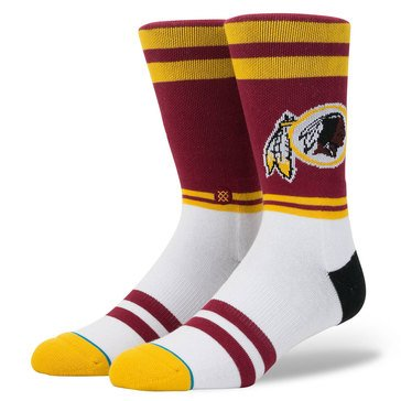 Stance Men's Washington Redskins Logo Sock