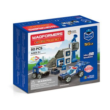 Magformers Amazing Police 50 Pc