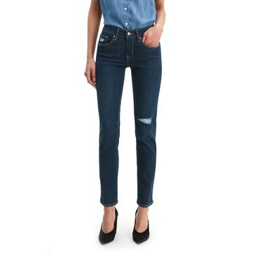 Levi's Women's Classic Midrise Skinny Destructed Jeans