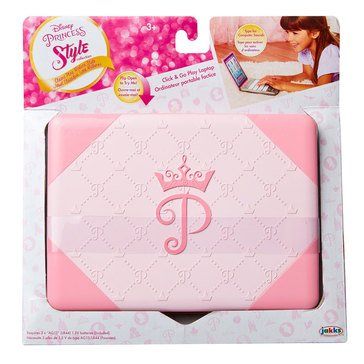 Disney Princess Style Collection Laptop With Sound Play Set
