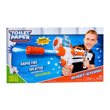 Toilet Papaer Blaster Sheet Storm