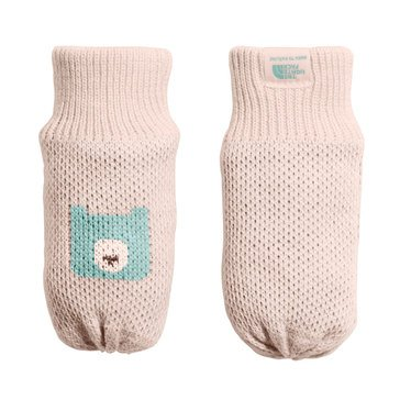 The North Face Baby Girls' Faroe Bear Mittens