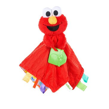 Sesame Street Snuggles with Elmo Baby's First Soothing Blanket
