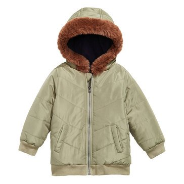 First Impressions Baby Boys' Chevron Parka