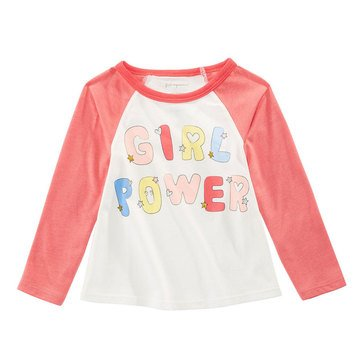 First Impressions Baby Girls' Girl Power Tee