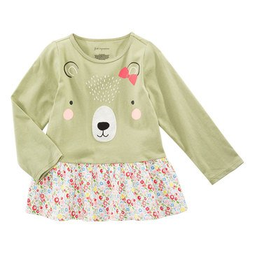 First Impressions Baby Girls' Bear Tunic