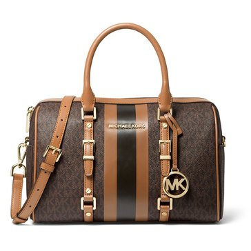 Michael Kors Bedford Travel Medium Duffle Satchel