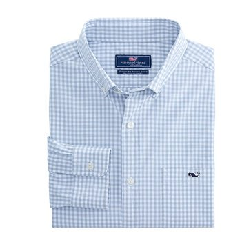 Vineyard Vines Men's Arawak Gingham Classic Tucker