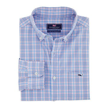 Vineyard Vines Men's Pastel Check Classic Tucker