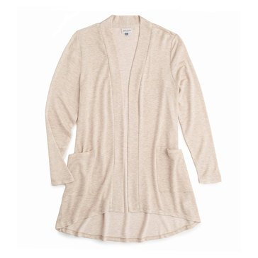 Yarn & Sea Women's Mid- Length HiLo French Terry Cardie