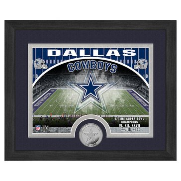 The Highland Mint Dallas Cowboys 9x11 Single Coin Team Photo