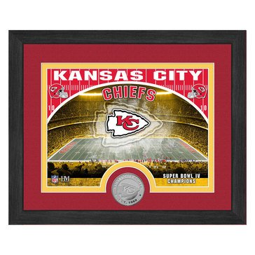 The Highland Mint Kansas City Chiefs 9x11 Single Coin Team Photo