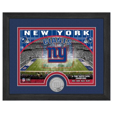 The Highland Mint New York Giants 9x11 Single Coin Team Photo