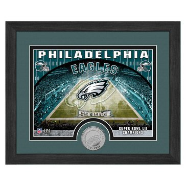 The Highland Mint Philadelphia Eagles 9x11 Single Coin Team Photo