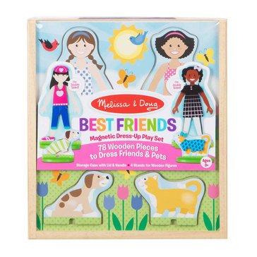 Melissa & Doug Best Friends Magnetic Dress Up Play Set