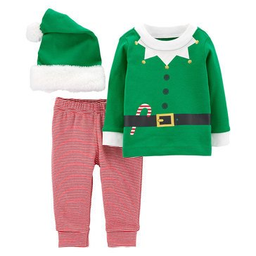 Carter's Baby Girls' 3-Piece Elf Suit Outfit