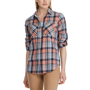 Lauren Ralph Lauren Women's Bramble Plaid Shirt