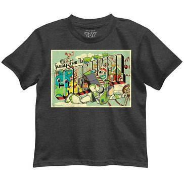 Toy Story Toddler Boys' Carnival Greetings Graphic Tee
