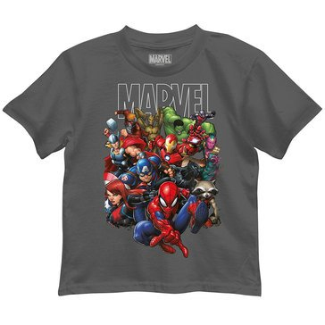 Marvel Toddler Boys' Team Graphic Tee