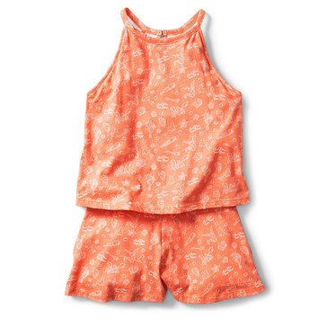 Roxy Big Girls' Disney Misty Afternoon Romper