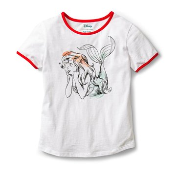 Roxy Big Girl's Disney ye On You Tee