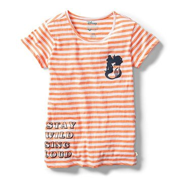 Roxy Big Girl's Disney Stay Wild Sing Loud Tee
