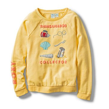 Roxy Big Girls' Disney Thingamabob Collector Fleece