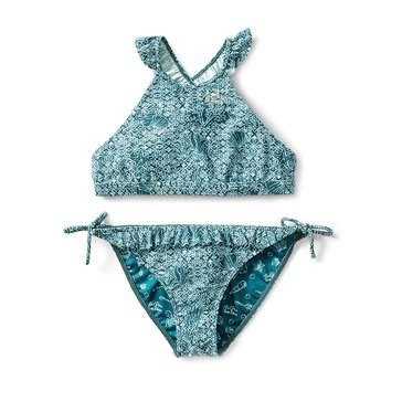 Roxy Big Girls' Disney Shells of Sea Crop 2-Piece Set