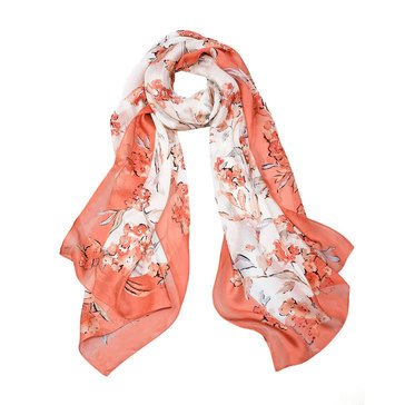 White House Black Market Women's Floral Scarf