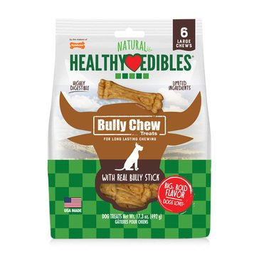 Nylabone Healthy Edibles Bully Chew Bones for Dogs