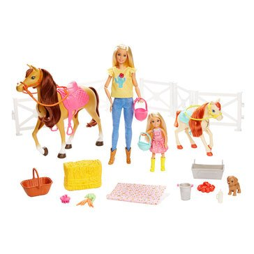 Barbie Hug N Horse