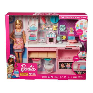 Barbie You Can Be Anything Sweets Baker Doll and Playset