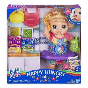 Baby Alive Happy Hungry BL
