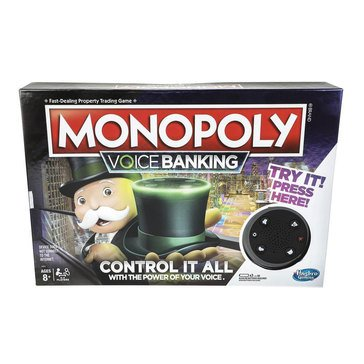 Voice Banking Edition Monopoly Game