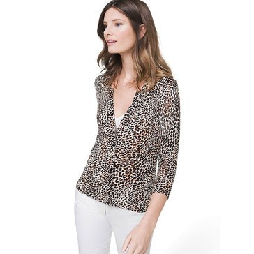 White House Black Market Women's Printed Cardigan