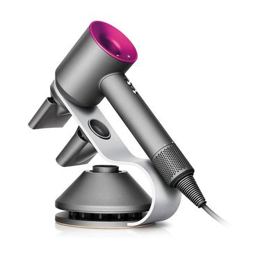 Dyson Supersonic™ Limited Edition Fuchsia/Iron Hair Dryer with Magnetic Stand