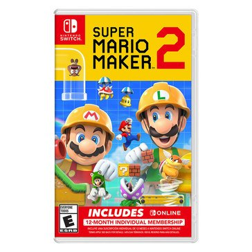 Switch Super Mario Maker 2 with Switch Online